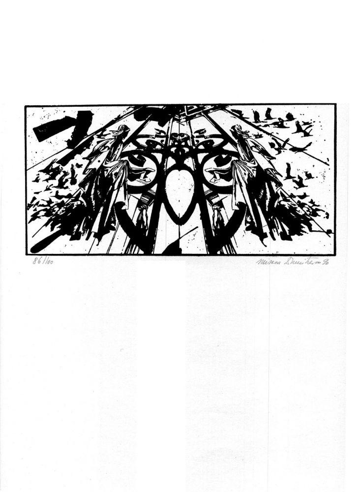 Mircea Dumitrescu, De cite ori iubito…, 86from100, 1990, 51x37 cm