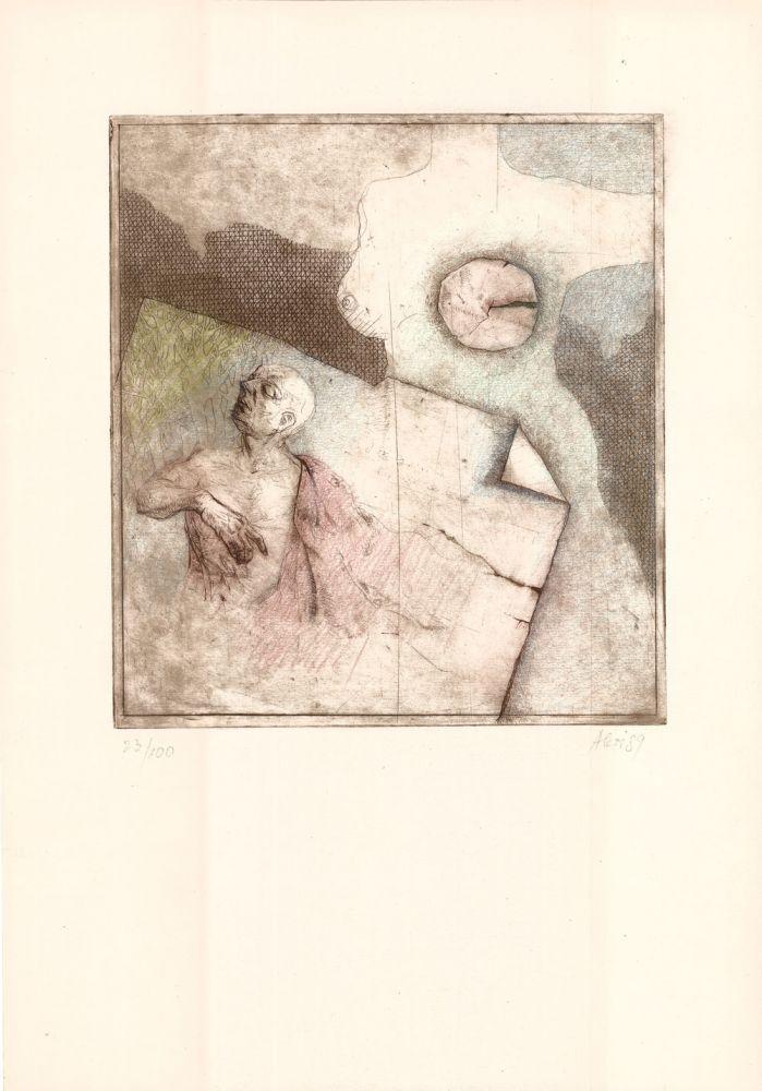 Nicolae Alexi, Zimbind prin lume treci!, 23from100, 1989, 51x37 cm