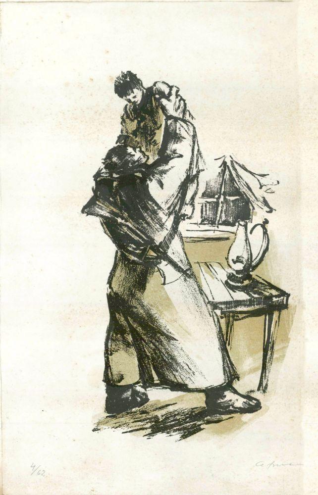 Paul Atanasiu, Intalnirea, 31x45 cm