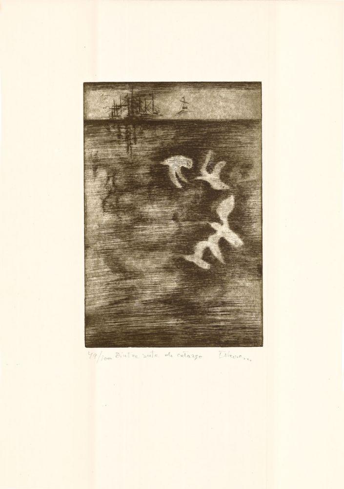 Tiberiu Nicorescu, Dintre sute de catarge, 49from100, 51x37 cm