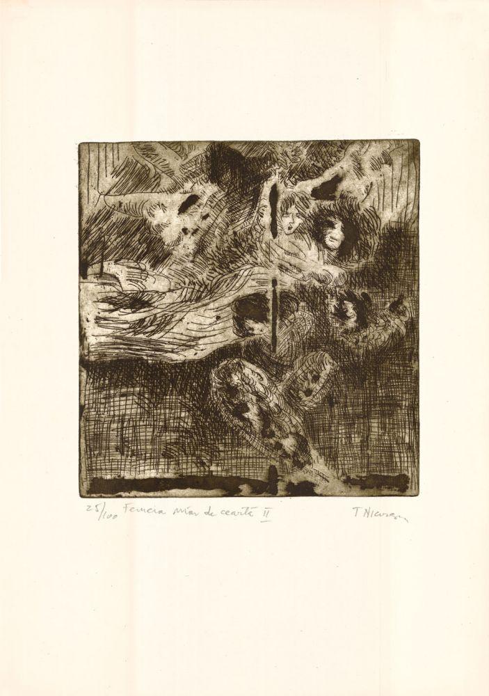 Tiberiu Nicorescu, Femeia mar de cearta II, 25from100, 51x37 cm