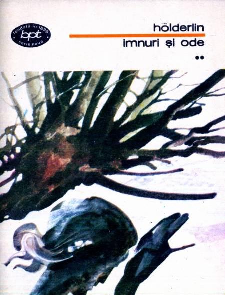coperta Holderlin, Imnuri și ode, Editura Minerva Vol. 2, 1977
