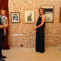 Vedere din expozitiei cu lucrari de Hedda Sterne si Cornelia Danet, Foto credit Valeriu Mladin