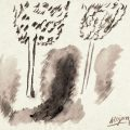 Aurel Cojan, Peisaj, 1960, guasa pe hartie, 29x21 cm