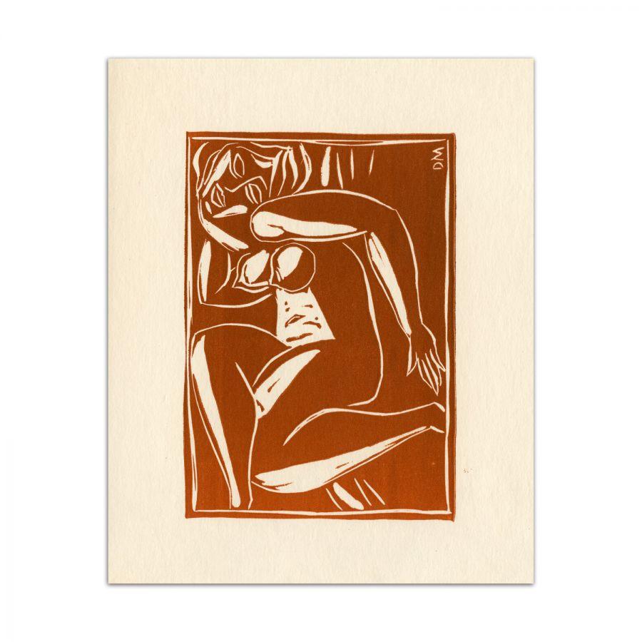 Dragoș Morărescu, Lujere, 1981, gravuri in masa plastica, 25x18 cm