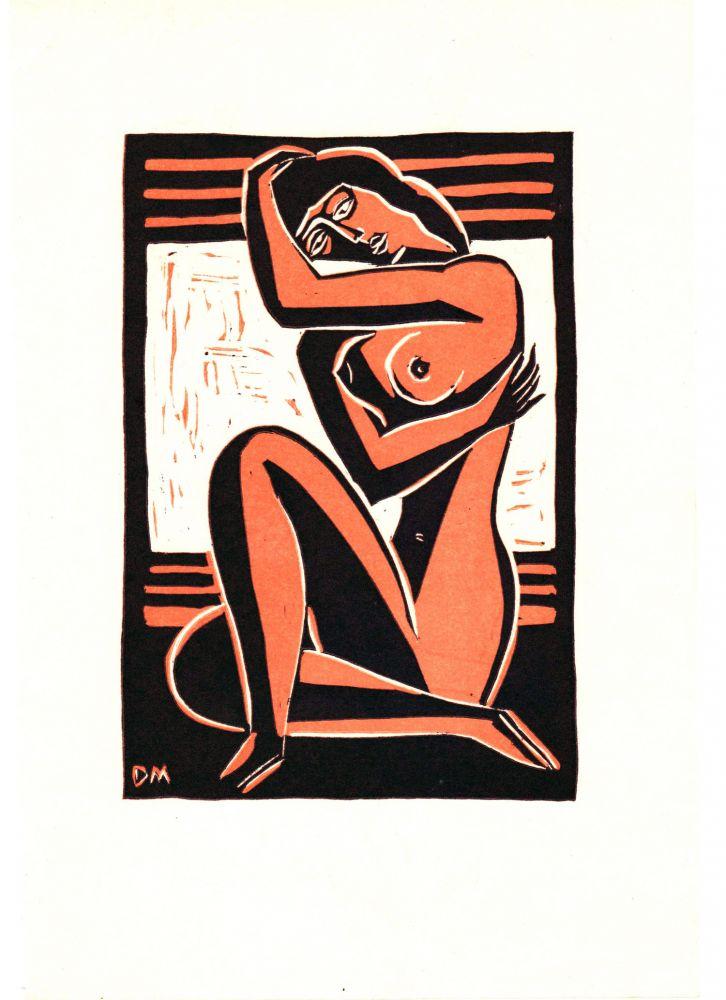 Dragos Morarescu, Nude, linotype, 245x165mm