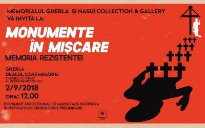 """""""Monumente în mișcare – Memoria Rezistenței"""" la Memorialul Gherla"""