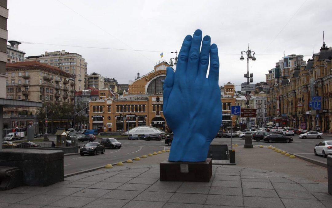 Artist Statement, Kyiv Moving Monuments