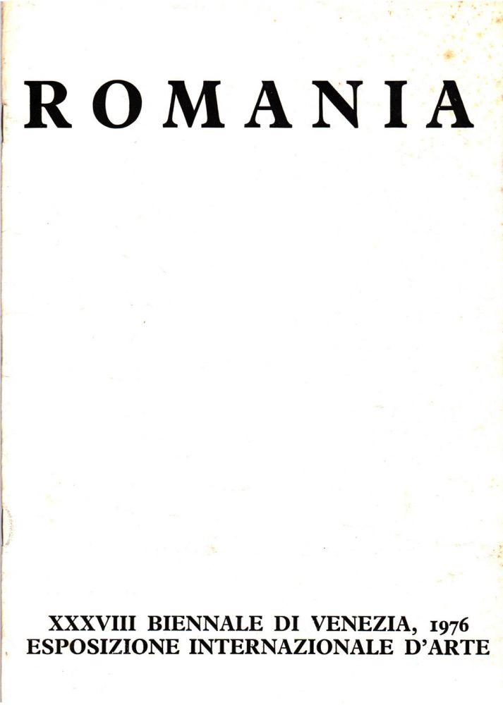 Romania Venice Biennale 1976