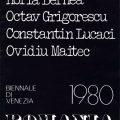 Romania Venice Biennale 1980