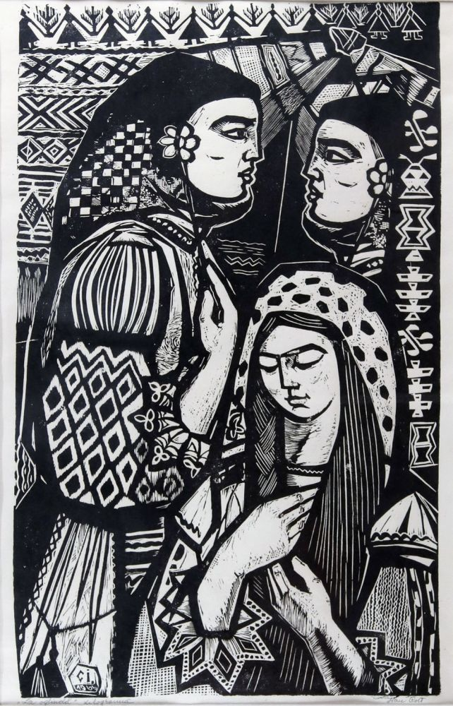 Ioan Cott, Oglinda, 1970 82x61cm 1