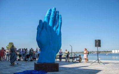 """Moving Monuments: """"Middle Way"""" ajunge la Mîkolaiv, Ucraina"""
