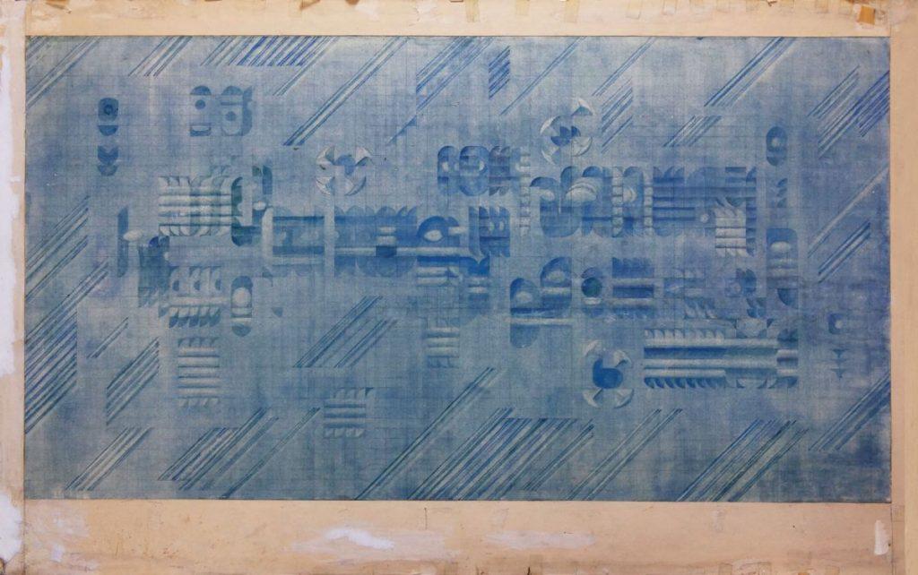 Vasile Celmare, Proiect, 57x100 cm