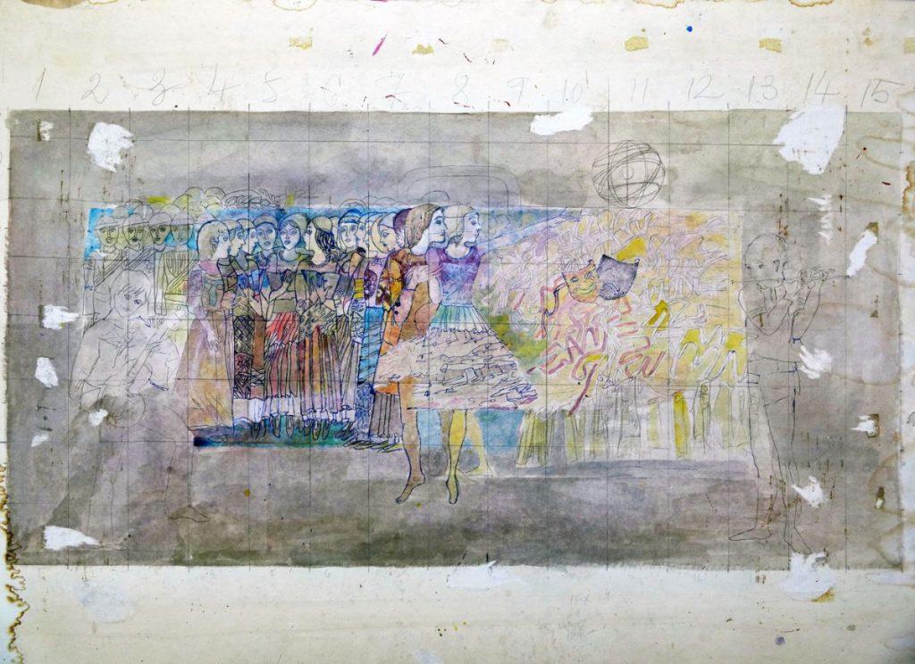 Vasile Celmare, Proiect, 63x80 cm