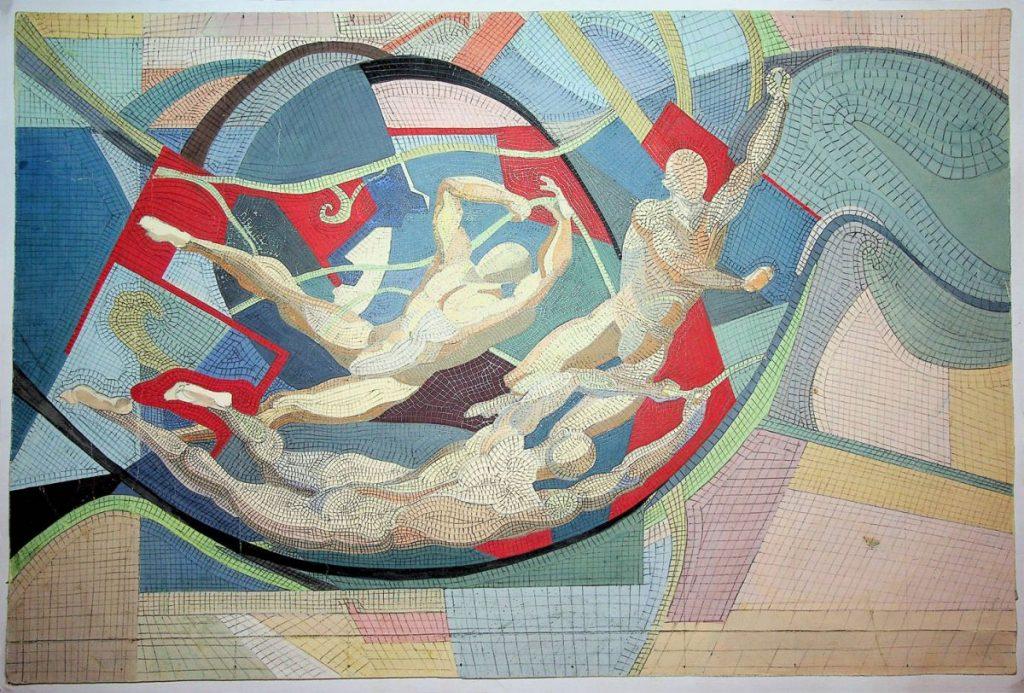 Vasile Celmare, Proiect mozaic, 30x45 cm