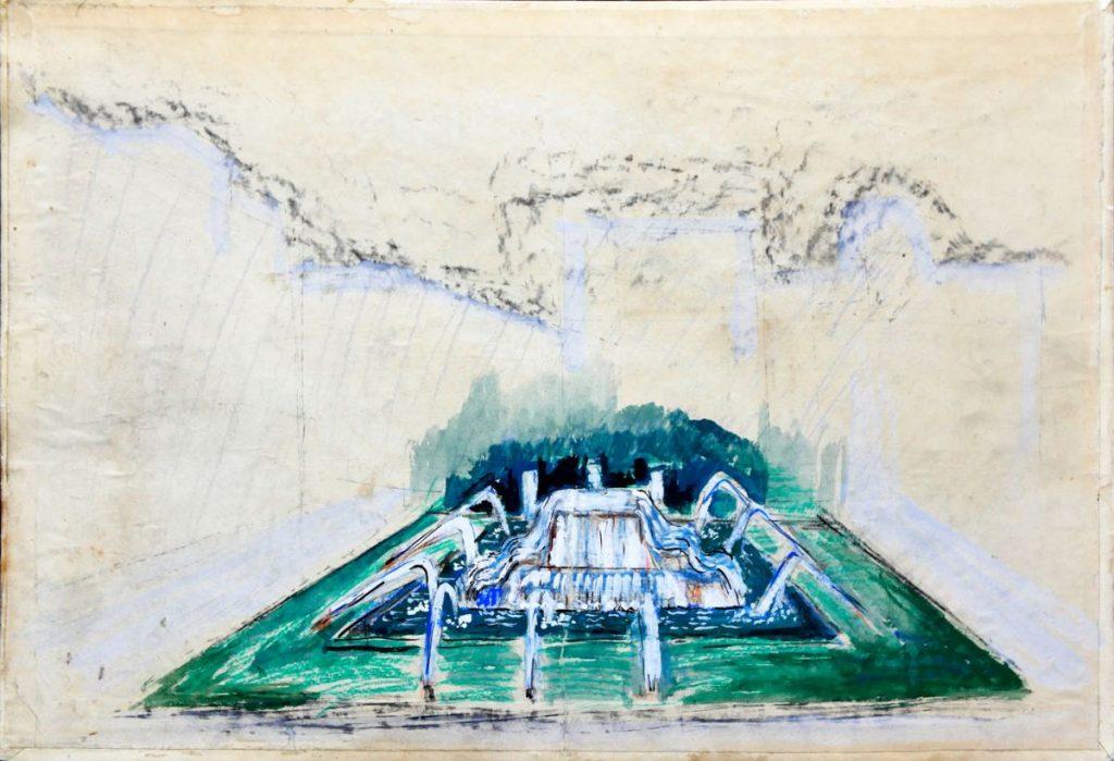 Vasile Celmare; proiect fantani decorative 50x70 cm