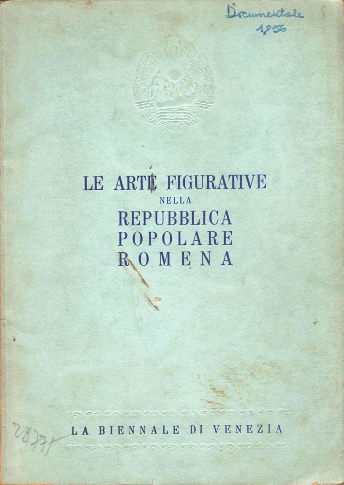 Le Arte Figurativi nella RPR, La Biennale di Venezia, 1954