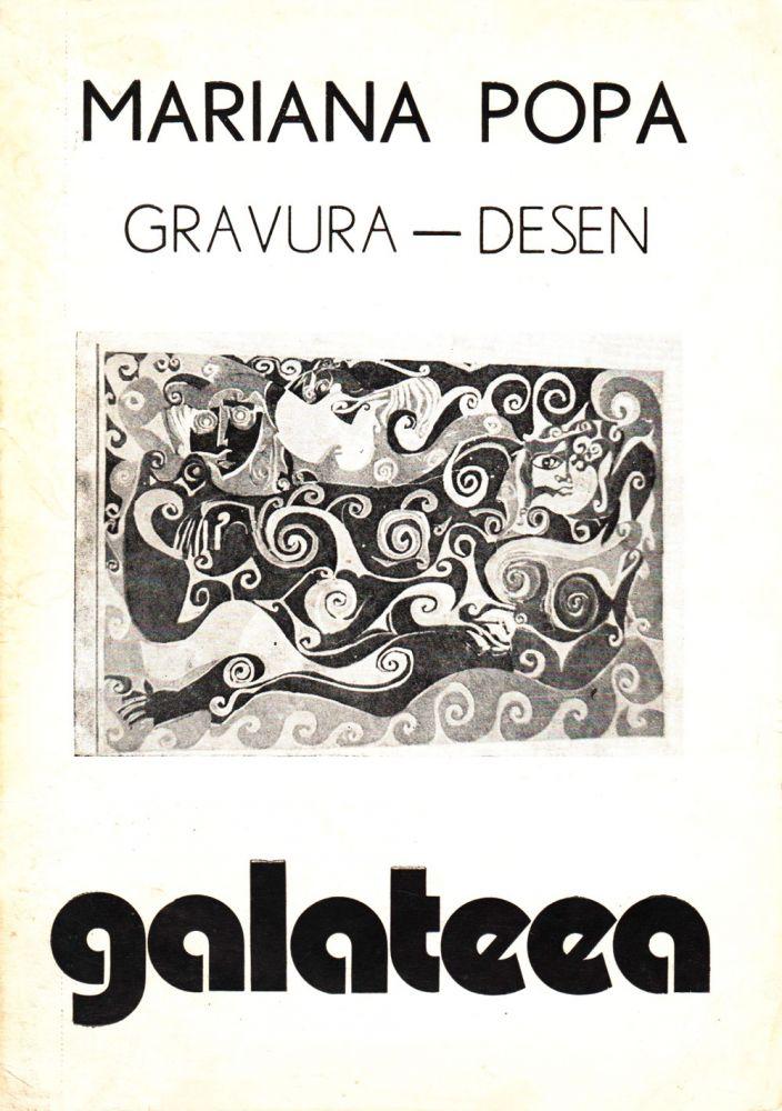 Mariana Popa, Gravură Desen, Galateea, martie, 1983
