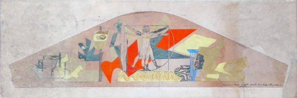 Mariana Popa, Proiect, pesete, Parcul de cultura si odihna, 26x76 cm