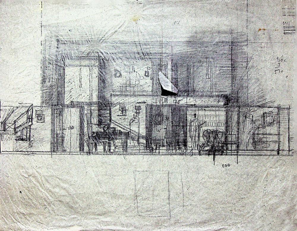 Paul Botnovschi, G B Shaw, Pygmalion,Teatrul Lucia Sturdza Bulandra, 1974, 29x 23 cm