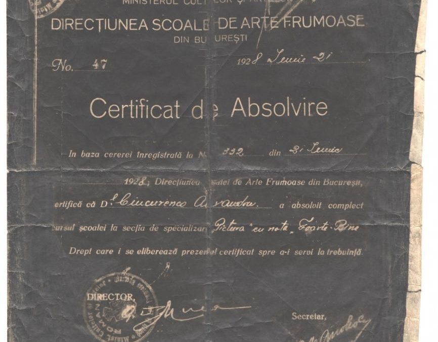 Opis Arhiva Alexandru Ciucurencu